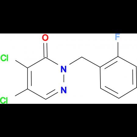 4,5-Dichloro-2-(2-fluorobenzyl)pyridazine-3(2H)-one