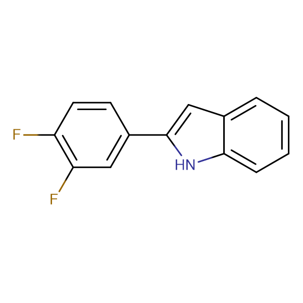 2-(3,4-Difluorophenyl)indole
