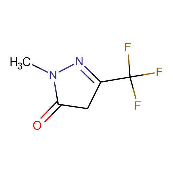 1-Methyl-3-trifluoromethyl-2-pyrazolin-5-one