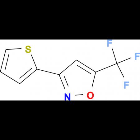 3-[Thien-2-yl-5-(trifluoromethyl)]isoxazole