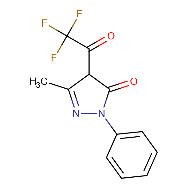 4-Trifluoroacetyl-3-methyl-1-phenyl-5-pyrazolone