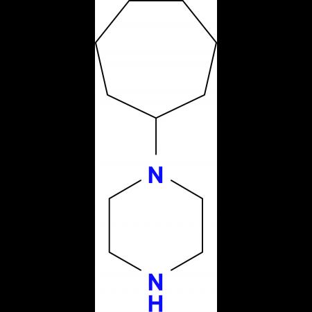 (1-Cycloheptyl)piperazine