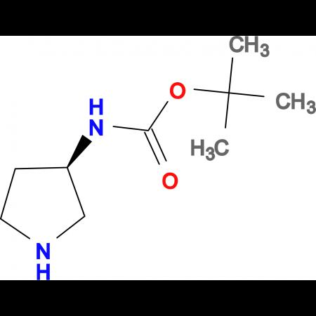 (3R)-(+)-3-(tert-Butoxycarbonylamino)pyrrolidine