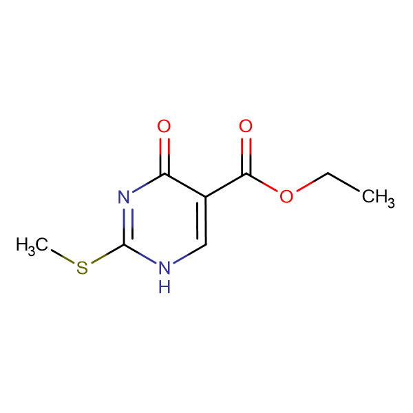 1,4-Dihydro-2-(methylthio)-4-oxo-5-pyrimidinecarboxylic acid ethyl ester