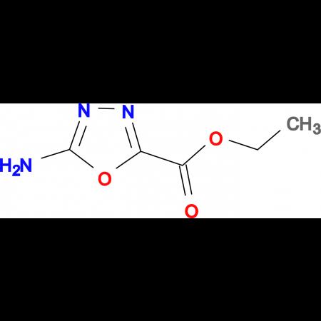 5-Amino-1,3,4-oxadiazole-2-carboxylic acid ethyl ester