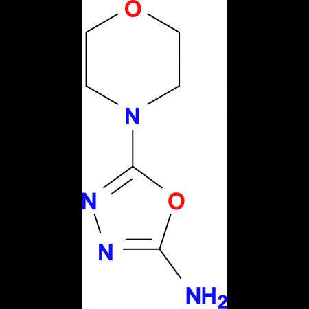 5-Morpholin-4-yl-1,3,4-oxadiazol-2-ylamine