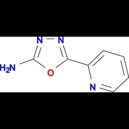 5-Pyridin-2-yl-1,3,4-oxadiazol-2-ylamine