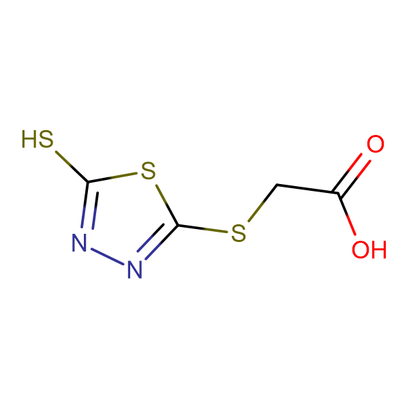 5-Mercapto-1,3,4-thiadiazol-2-ylthioacetic acid
