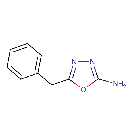 5-Benzyl-1,3,4-oxadiazol-2ylamine