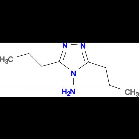 3,5-Dipropyl-1,2,4-triazol-4-ylamine