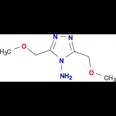 3,5-Bis-methoxymethyl-1,2,4-triazol-4-ylamine