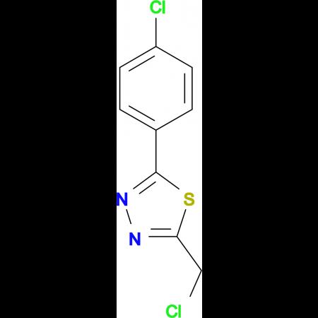 2-Chloromethyl-5-(4-chlorophenyl)-1,3,4-thiadiazole