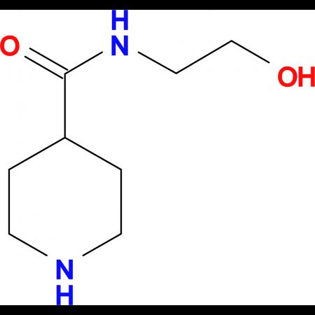 Piperidine-4-carboxylic acid (2-hydroxy-ethyl)-amide