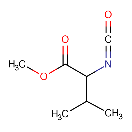 2-Isocyanato-3-methyl-butyric acid methyl ester