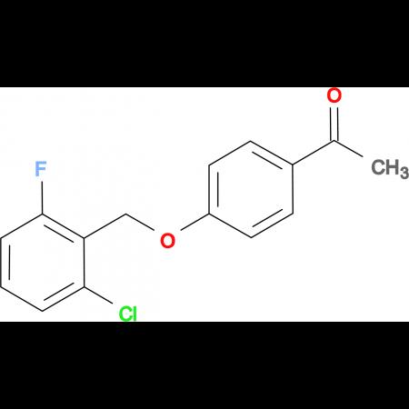 1-{4-[(2-Chloro-6-fluorobenzyl)oxy]phenyl}-1-ethanone