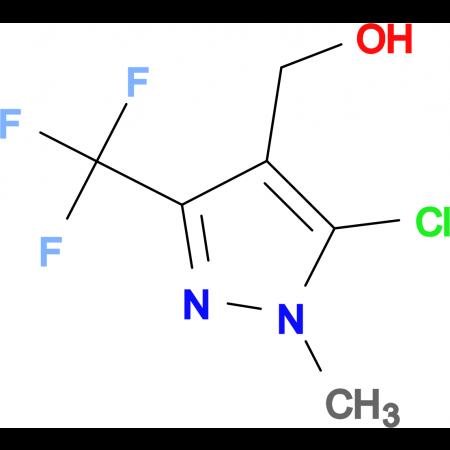 [5-Chloro-1-methyl-3-(trifluoromethyl)-1H-pyrazol-4-yl]methanol
