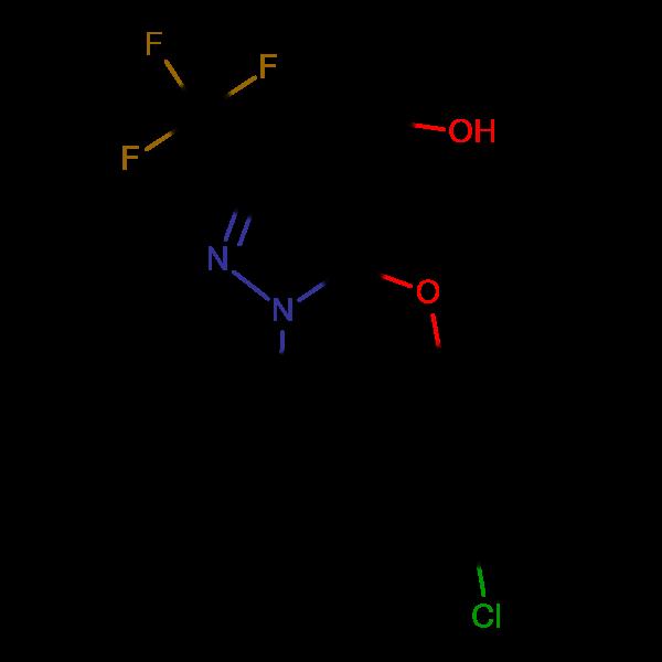 [5-(4-Chlorophenoxy)-1-methyl-3-(trifluoromethyl)-1H-pyrazol-4-yl]methanol