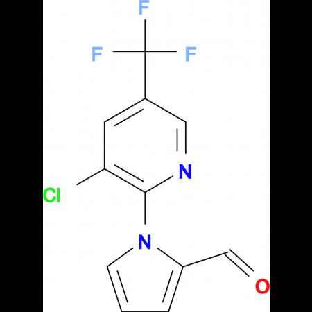 1-[3-Chloro-5-(trifluoromethyl)-2-pyridinyl]-1H-pyrrole-2-carbaldehyde