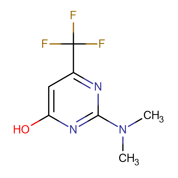 2-(Dimethylamino)-6-(trifluoromethyl)-4-pyrimidinol