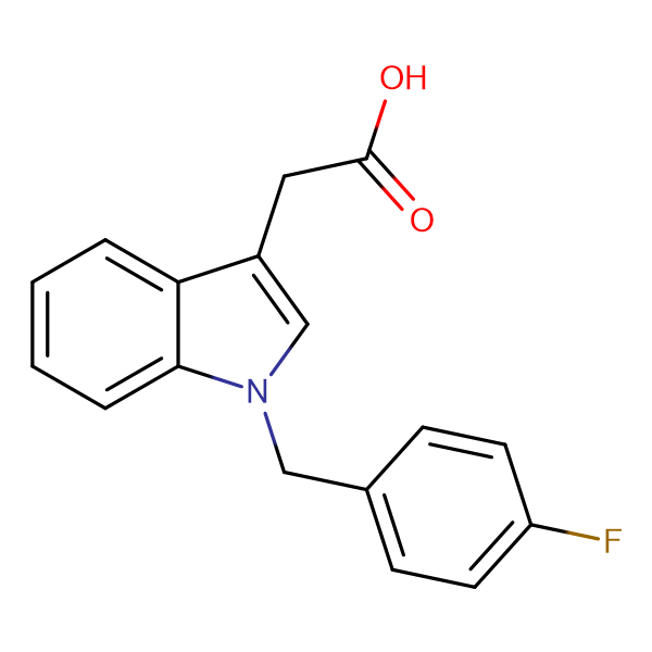 2-[1-(4-Fluorobenzyl)-1H-indol-3-yl]acetic acid