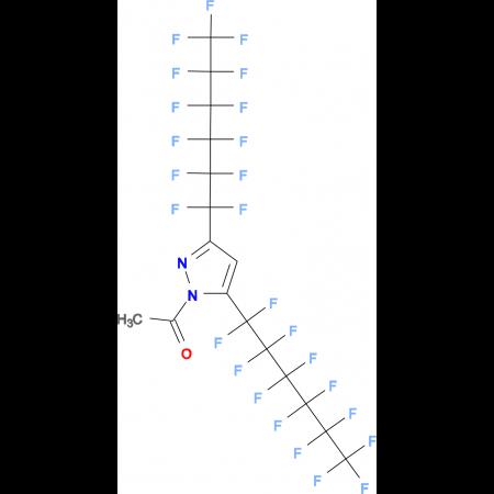 1-Acetyl-3,5-bis(perfluorohexyl)pyrazole