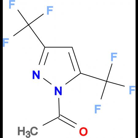 1-Acetyl-3,5-bis(trifluoromethyl)pyrazole
