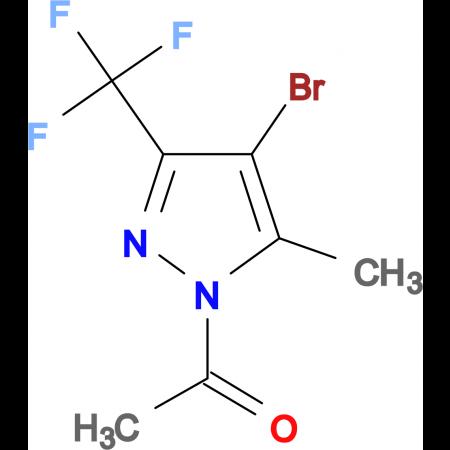 1-Acetyl-4-bromo-5-methyl-3-(trifluoromethyl)-pyrazole