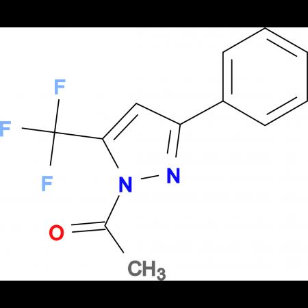 1-Acetyl-5(3)-phenyl-3(5)-trifluoromethylpyrazole