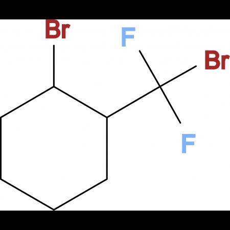 1-Bromo-2-(bromodifluoromethyl)cyclohexane