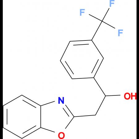 2-Benzoxazol-2-yl-1-(3-trifluoromethylphenyl)ethanol