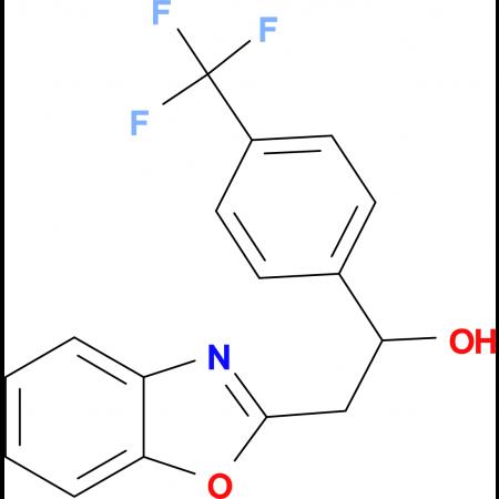 2-Benzoxazol-2-yl-1-(4-trifluoromethylphenyl)ethanol