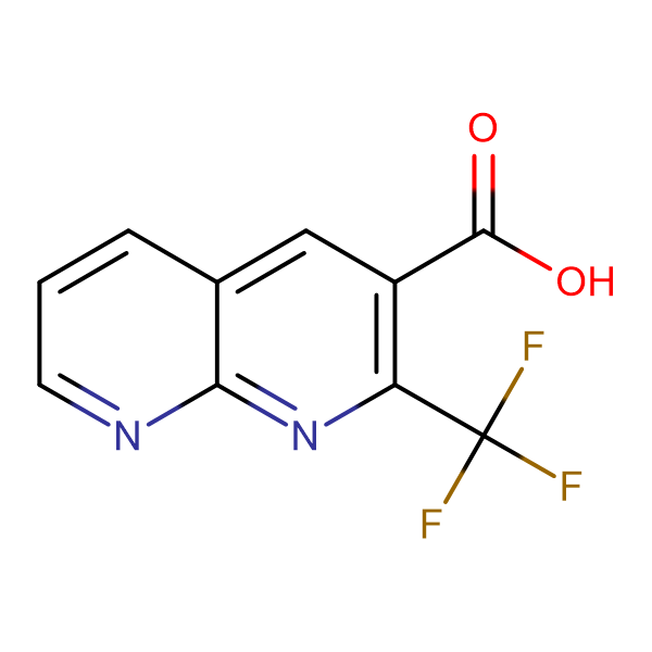 2-(Trifluoromethyl)-1,8-napthyridine-3-carboxylic acid