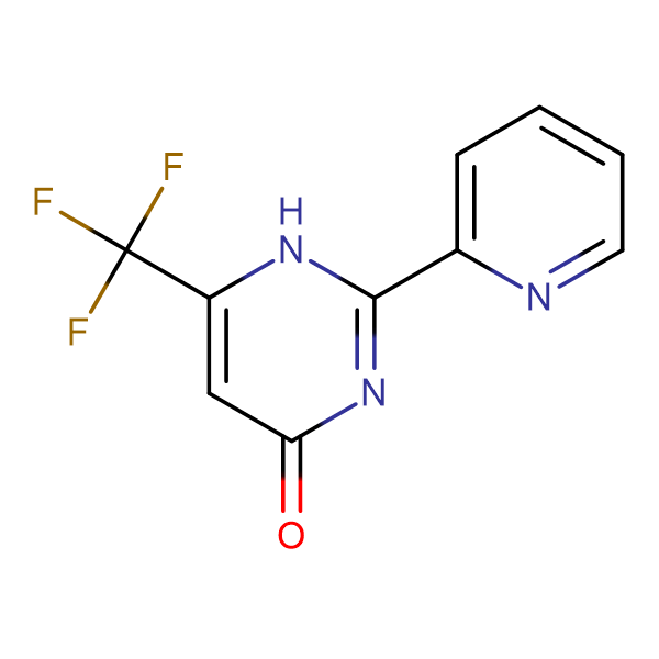 2-(2-Pyridinyl)-6-(trifluoromethyl)-4-pyrimidinol