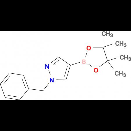 1-Benzyl-4-(4,4,5,5-tetramethyl-1,3,2-dioxaborolan-2-yl-1H-pyrazole