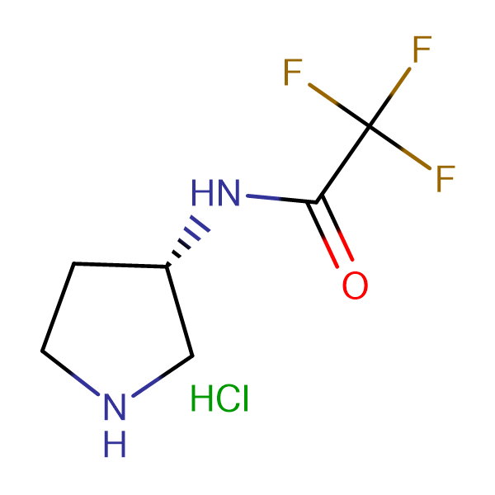 (3S)-(-)-3-(Trifluoroacetamido)pyrrolidine hydrochloride