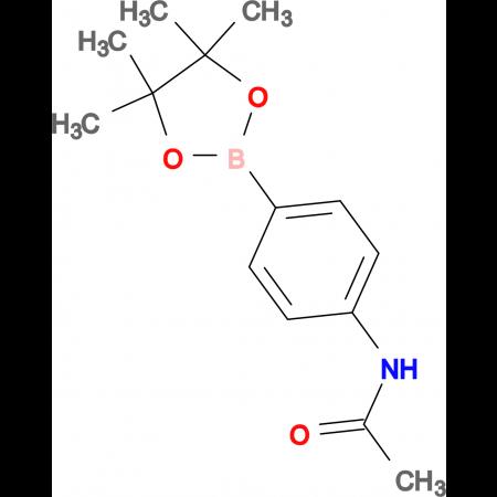 4-(4,4,5,5-Tetramethyl-1,3,2-dioxaborolan-2-yl)acetanilide