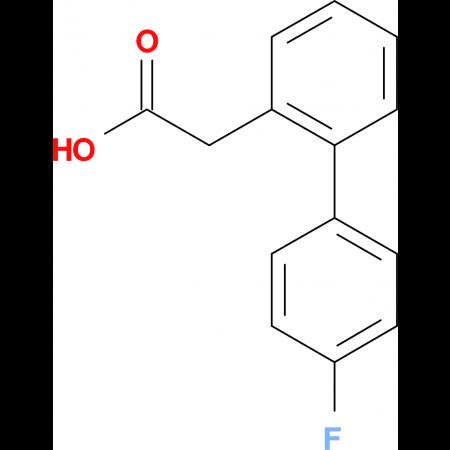 (4-Fluorobiphenyl-2')-acetic acid