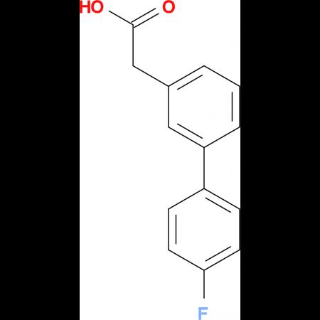 (4-Fluorobiphenyl-3')-acetic acid