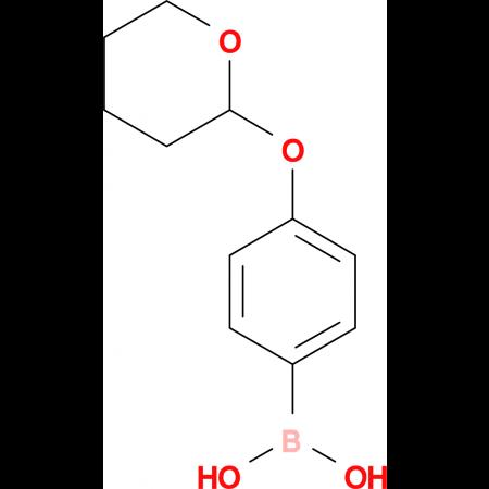 4-Hydroxyphenylboronic acid-THP-ether