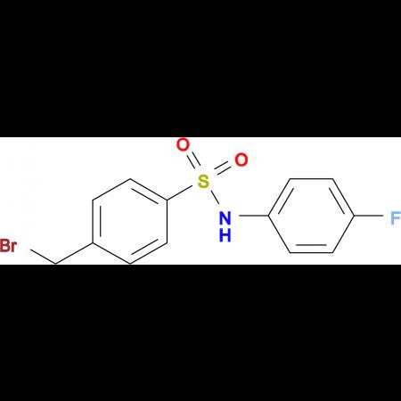 ((4-(Bromomethyl)phenyl)sulfonyl)(4-fluorophenyl)amine