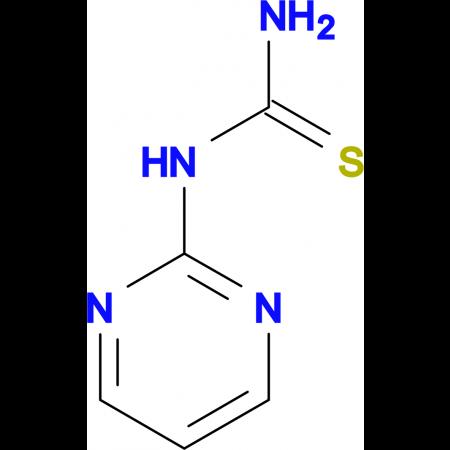 1-(Pyrimidin-2-yl)thiourea