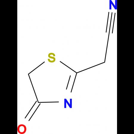 1,3-Thiazolin-4-one-2-acetonitrile