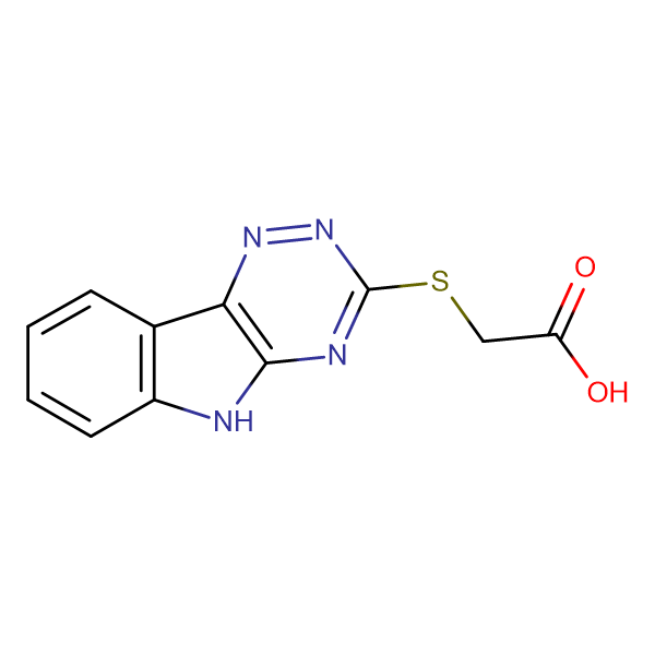 2-(2,3,6-Triazino[5,4-b]indol-3-ylthio)acetic acid