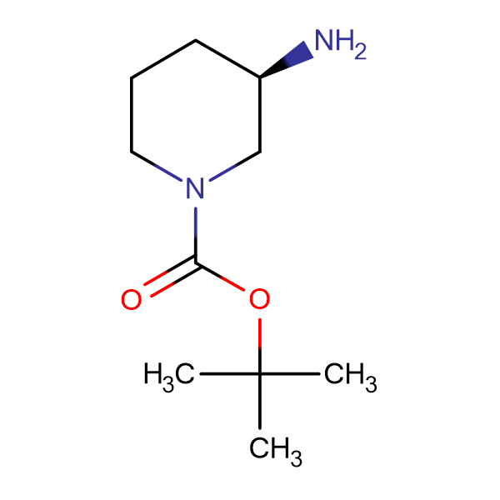 (R)-3-Amino-1-N-Boc-piperidine