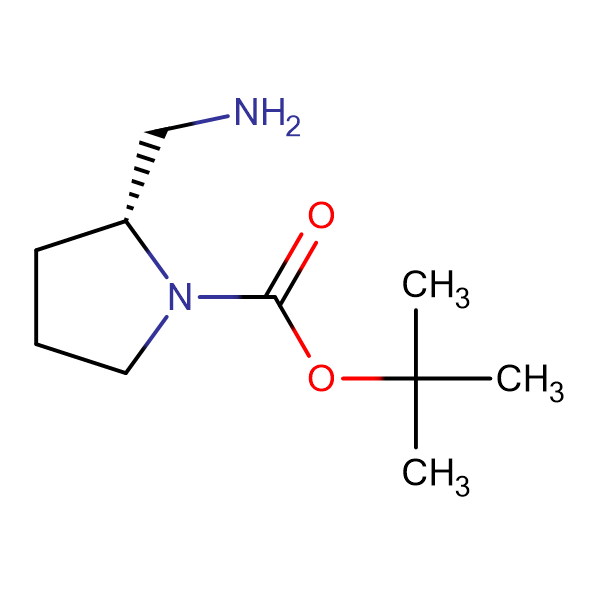(R)-2-(Aminomethyl)-1-N-Boc-pyrrolidine