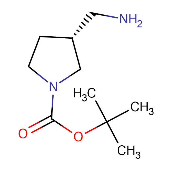 (R)-3-(Aminomethyl)-1-N-Boc-pyrrolidine