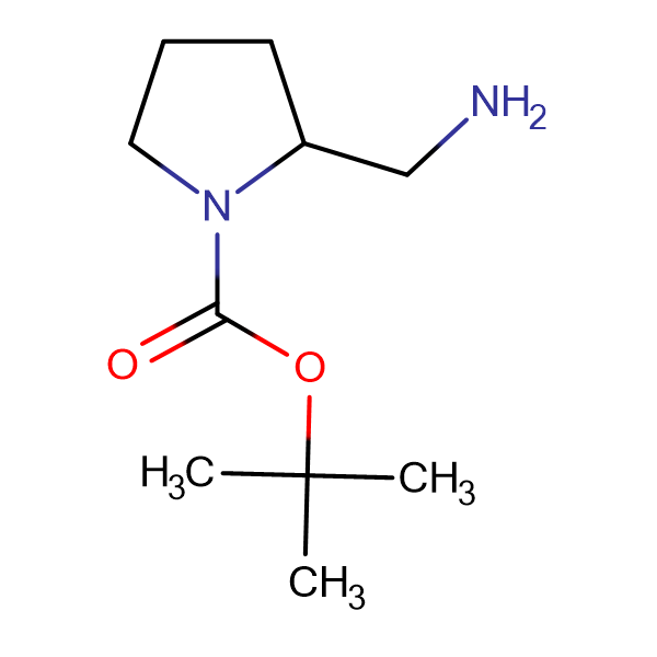 (+/-)-2-(Aminomethyl)-1-N-Boc-pyrrolidine