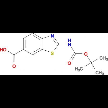 2-N-Boc-Amino-benzothiazole-6-carboxylic acid