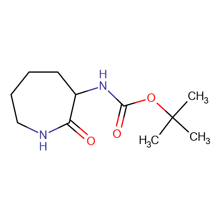 (+/-)-N-a-Boc-Amino-epsilon-caprolactam