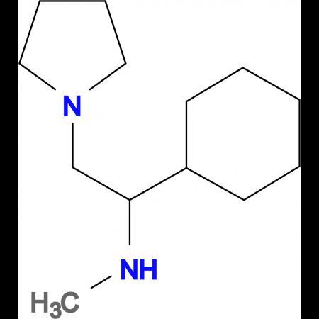 (1-Cyclohexyl-2-pyrrolidin-1-yl-ethyl)-methyl-amine